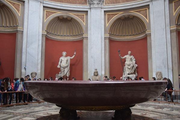 Vatikan Vatikanische Museen Rom Museo Pio Clementino Sala Rotonda Italien