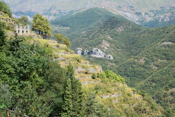 Triora Ruine Ligurien Italien