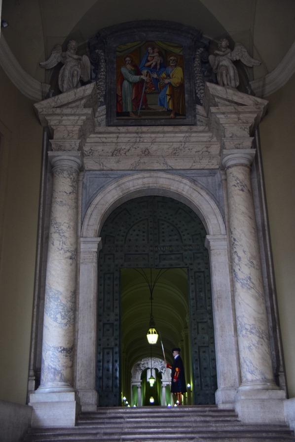 Vatikan Rom Petersdom Tor Schweizer Garde Italien