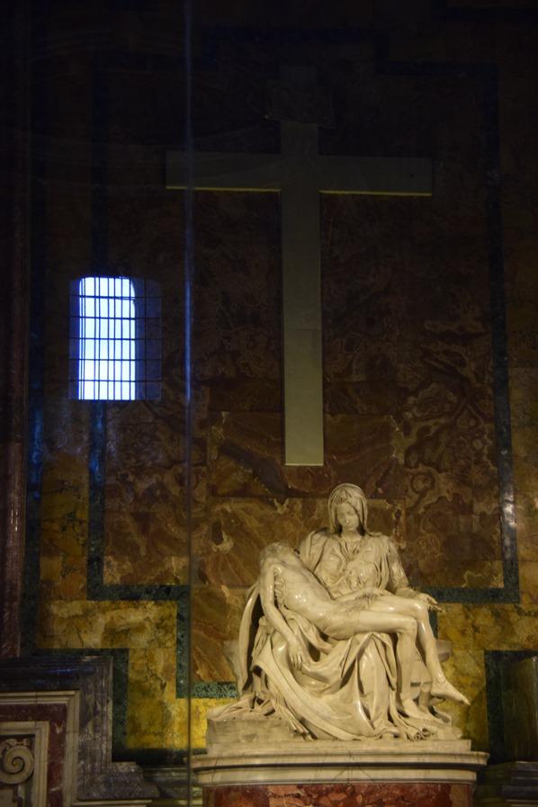 Vatikan Rom Petersdom Pieta von Michelangelo Italien