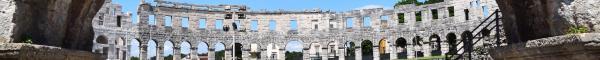 0 Amphitheater Pula Arena Istrien Kroatien