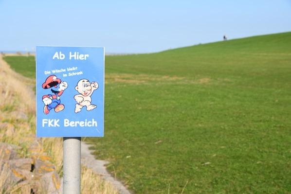 Nordsee Urlaub FKK-Strand Friedrichskoog Spitze Dithmarschen Schleswig-Holstein Deutschland