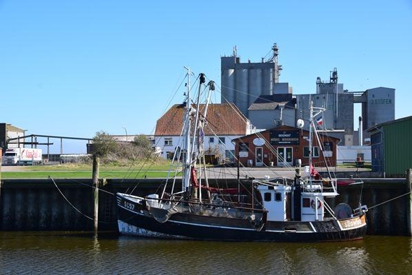 Nordsee Urlaub Hafen Büsum Nordfriesland Schleswig-Holstein Deutschland