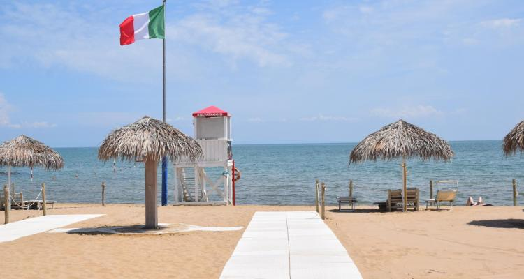 0 Strand Lignano Pineta Friaul Julisch Venetien Adria Italien