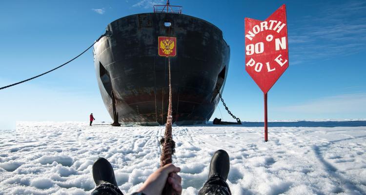 Eisbrecher Kreuzfahrt Urlaub Nordpol