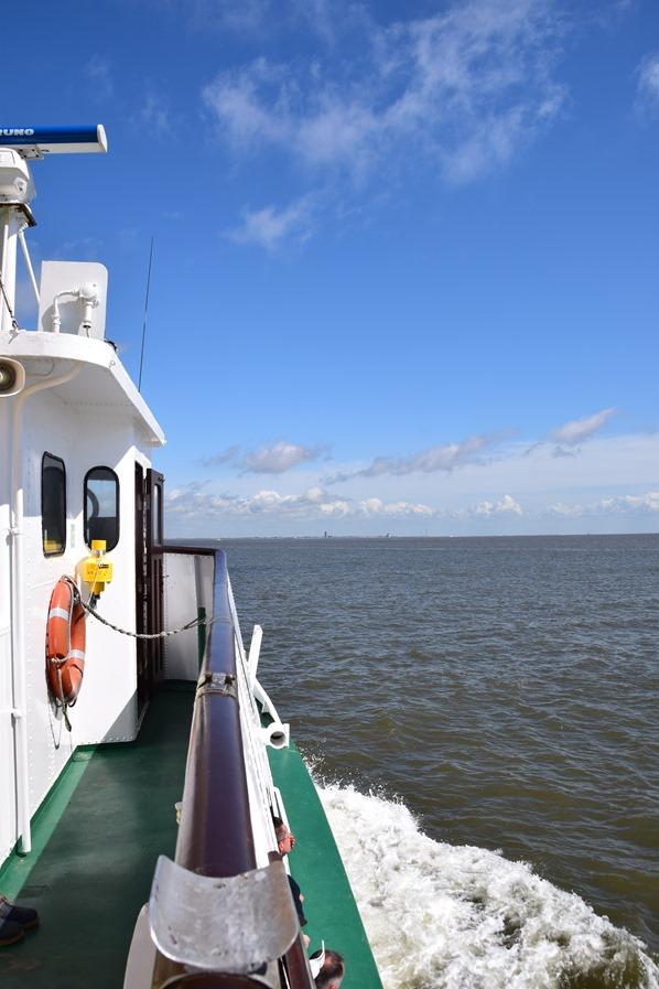 Schleswig Holstein Ausflugsboot Seehundsbank Büsum Dithmarschen Nordsee Urlaub