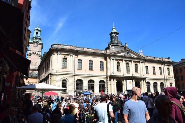 Stockholm Sehenswürdigkeiten Altstadt Stortorget Nobelmuseum Gamla Stan Schweden Ostsee Kreuzfahrt