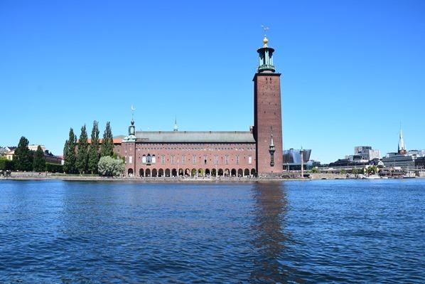 Stockholm Sehenswürdigkeiten Rathaus Stadshus Stadthuset Schweden Ostsee Kreuzfahrt