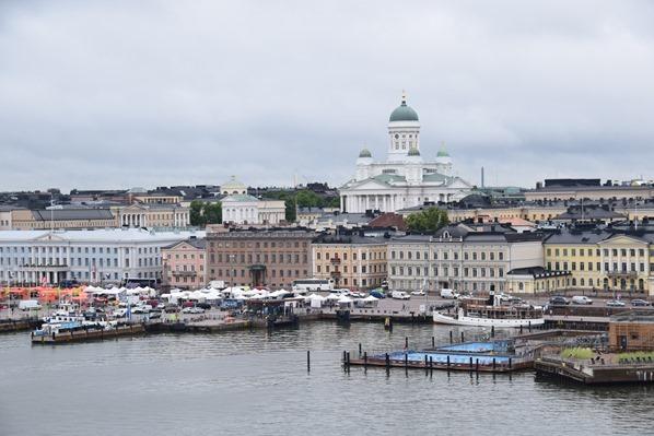 Skyline Helsinki Finnland Ostsee Minikreuzfahrt Tallink Silja Fähre