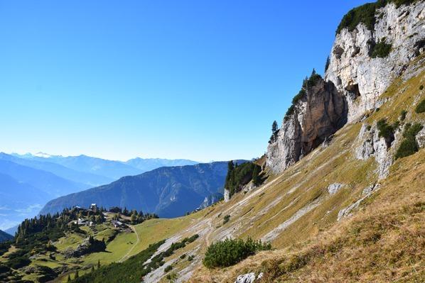 Rofan Achensee wandern Aussicht Bergwanderung Gschöllkopf Tirol Österreich