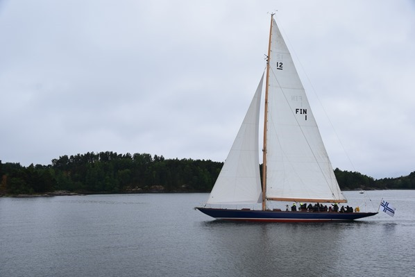 Bootstour Segelschiff Helsinki Sehenswürdigkeiten Finnland Minikreuzfahrt Ostsee Baltikum