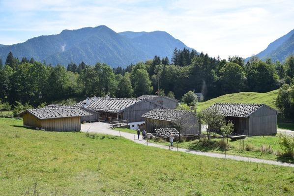 Gelände Markus Wasmeier Museum Freilichtmuseum Schliersee Alpen Oberbayern