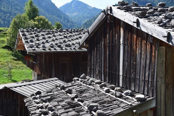 Dächer Markus Wasmeier Museum Freilichtmuseum Schliersee Alpen