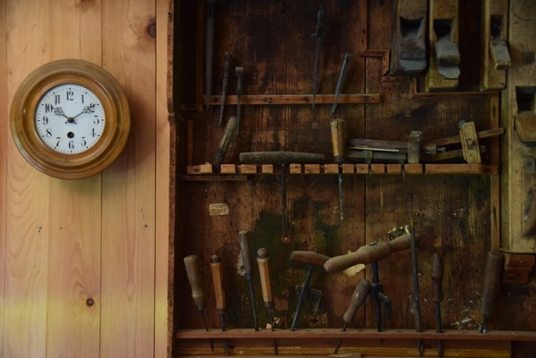 Handwerkerhaus Schuster Werkzeug Markus Wasmeier Museum Freilichtmuseum Schliersee