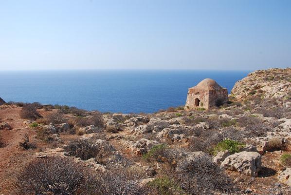 Insel Gramvousa Ruine Kreta Chania Griechenland