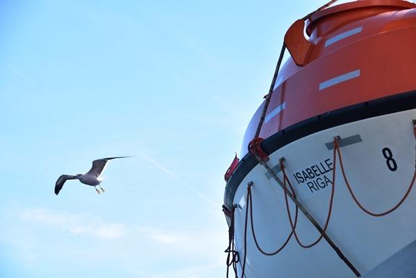 Luxus-Fähre Tallink Isabelle Riga Lettland Ostsee Kreuzfahrt