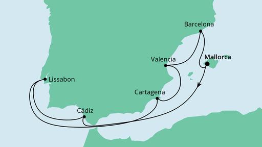 aidamar aida route spanien portugal 3