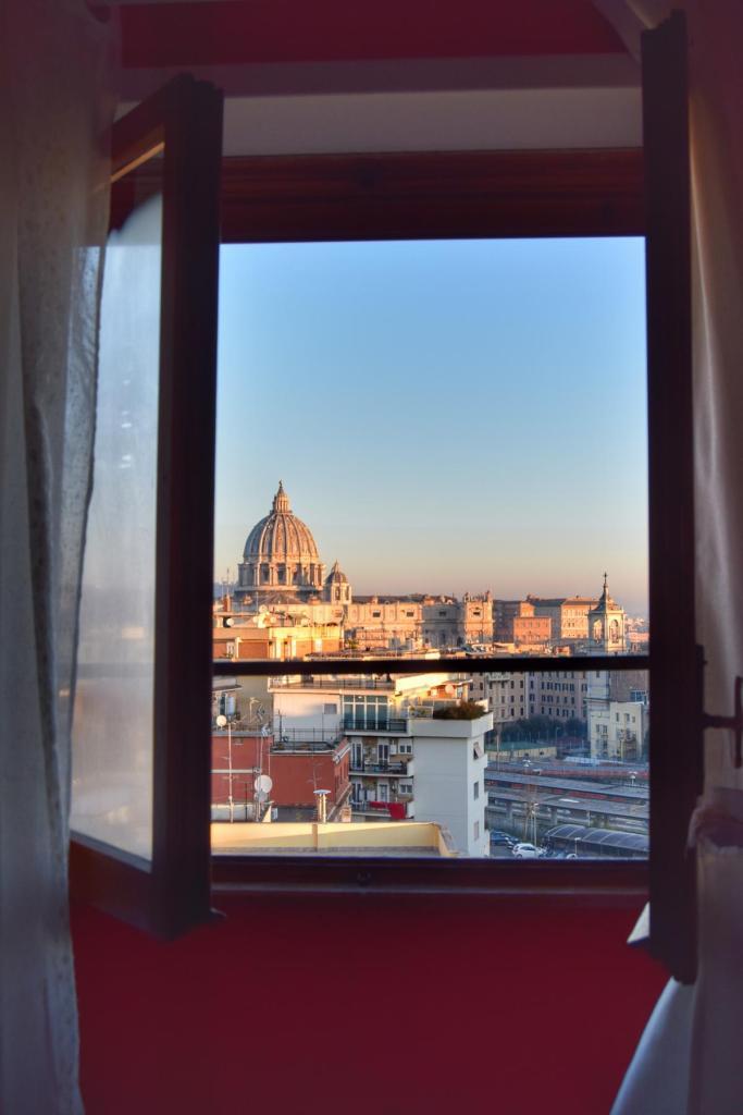 fenster morgens dezember vatikan rom italien