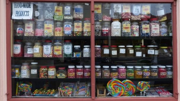 Bonbonladen in Hobart/Tasmanien