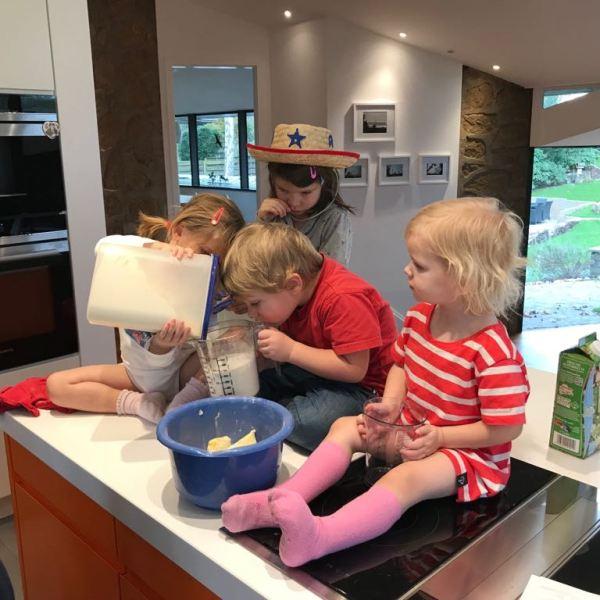Kleine Kinder = Große Bäcker