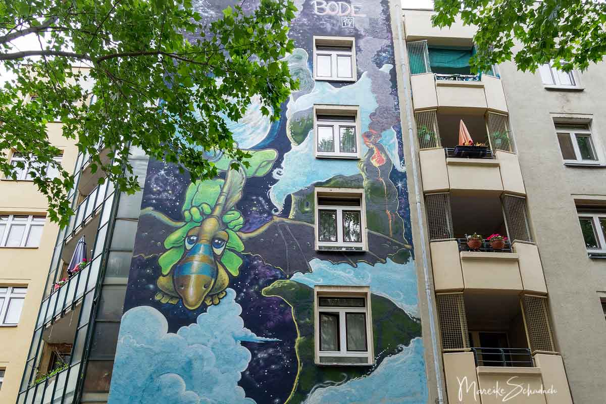 Mark Bode: Lizard - Schwerinstraße 3