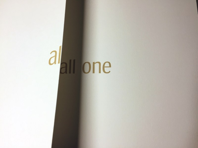 Alone - All One