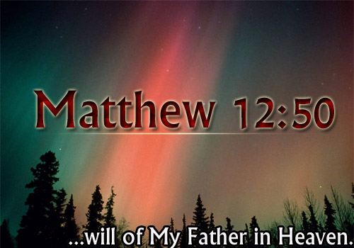 Read more about the article Matthew 12:50.
