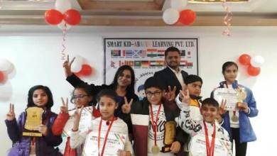 Photo of International Level Smart Kids Abacus Private Ltd Ferozepur Centre's students bags Positions in State Level competition in Abacus