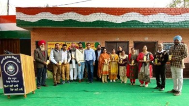 NRI contributes in Self Smart School Campaign, donates various items