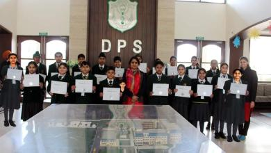 Photo of Diaana Kakkar among 21 DPS students to bag Certificates in Green Olympiad – an initiative by TERI