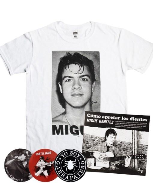 a-oferta-migue-benitez-disco-libro-camiseta-migue-rostro-pack