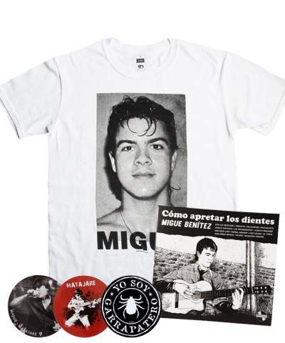 a-oferta-migue-benitez-disco-libro-camiseta-migue-rostro-pack