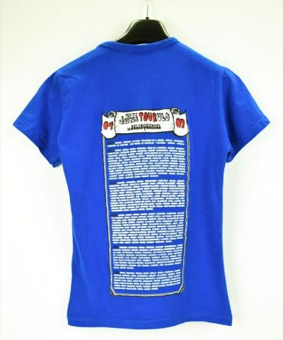 Camiseta-Mujer-Los-Delinquentes-No-Te-Jartas-Azul-atras