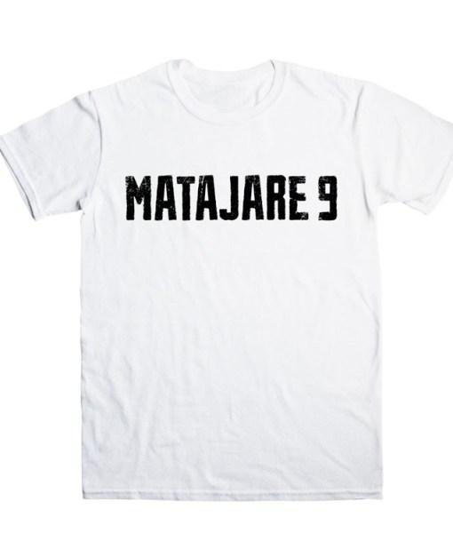 Camiseta-hombre-Migue-Benitez-Matajare-9-Blanca-detalle