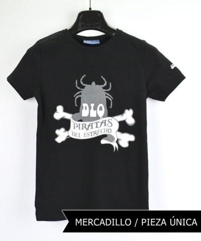 Camiseta-mujer-Los-Delinquentes-Piratas-negra