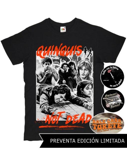 Camiseta-Quinqui-Sound-Quinquis-Not-Dead-Negra-Preventa