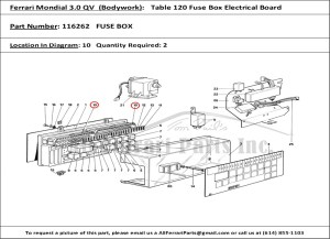2003 Maserati Coupe Fuse Box | Online Wiring Diagram