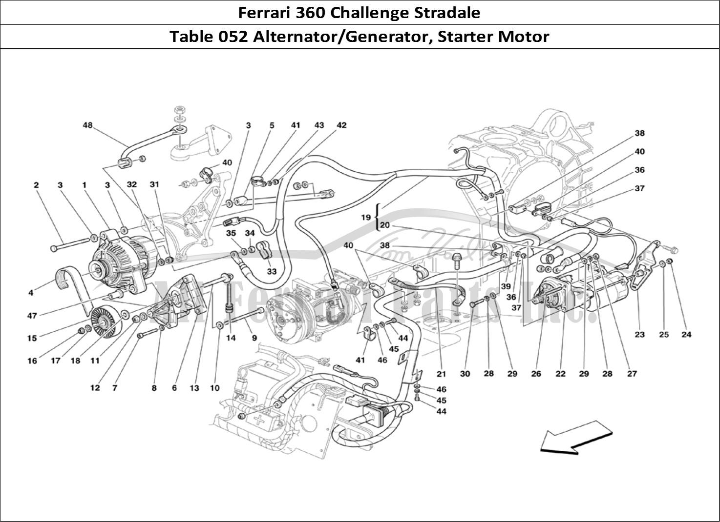 Buy Original Ferrari 360 Challenge Stradale 052 Alternator