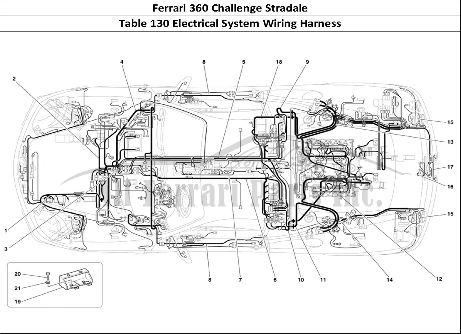 Buy Original Ferrari 360 Challenge Stradale 130 Electrical