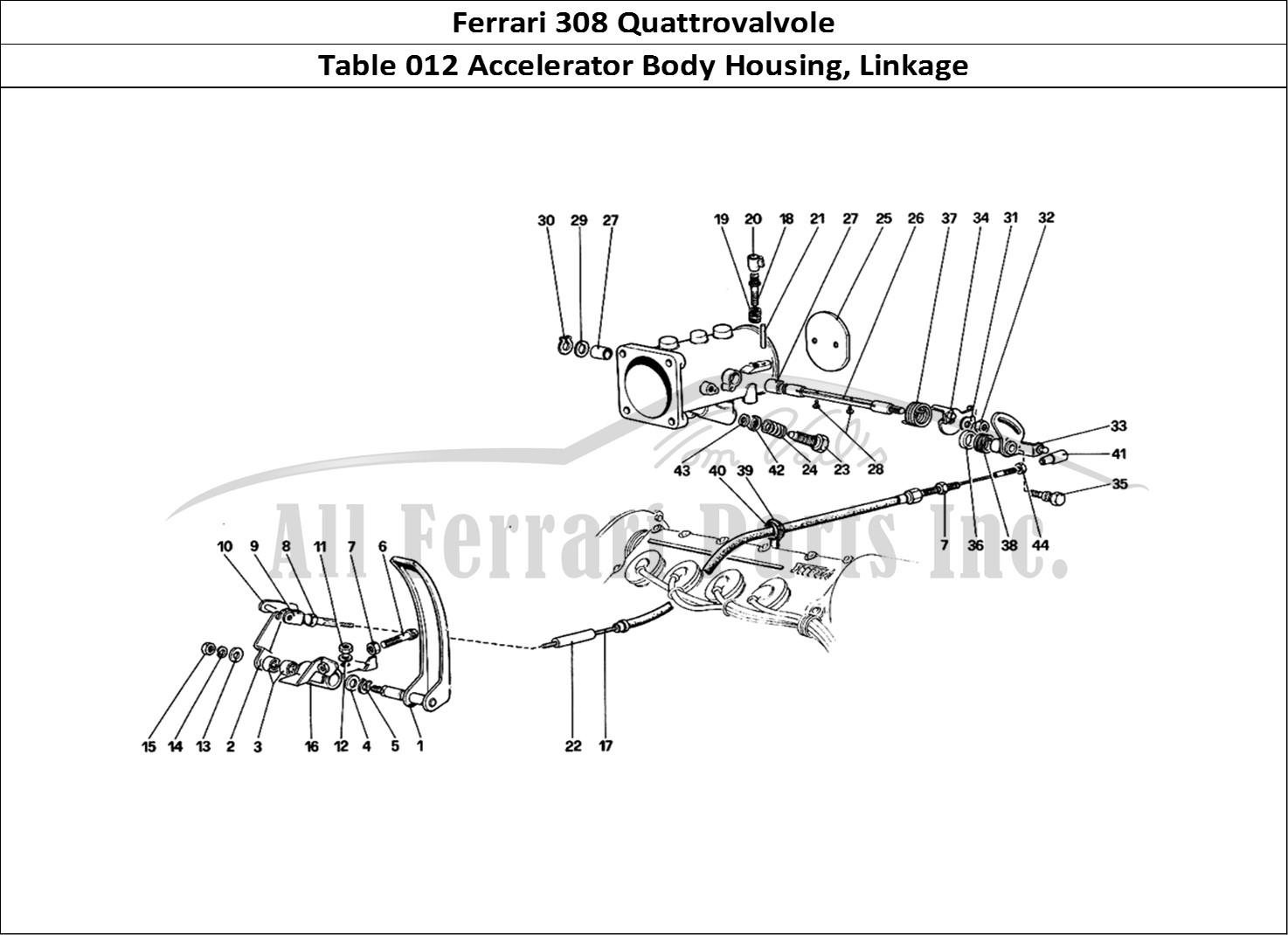 Buy Original Ferrari 308 Quattrovalvole 012 Accelerator