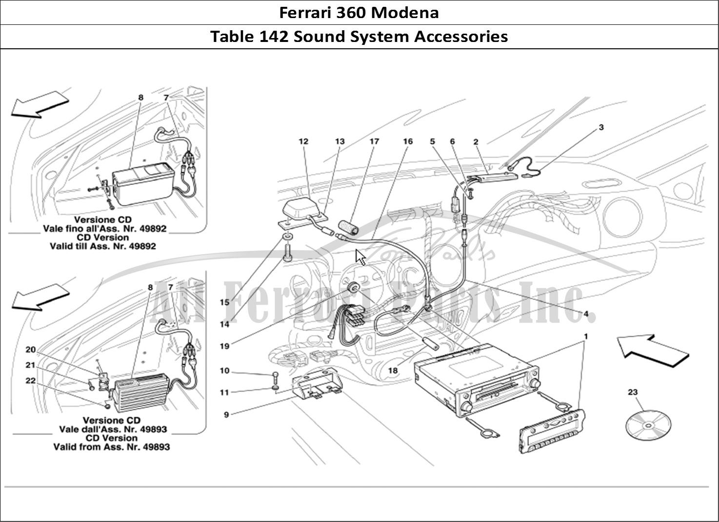 Buy Original Ferrari 360 Modena 142 Sound System