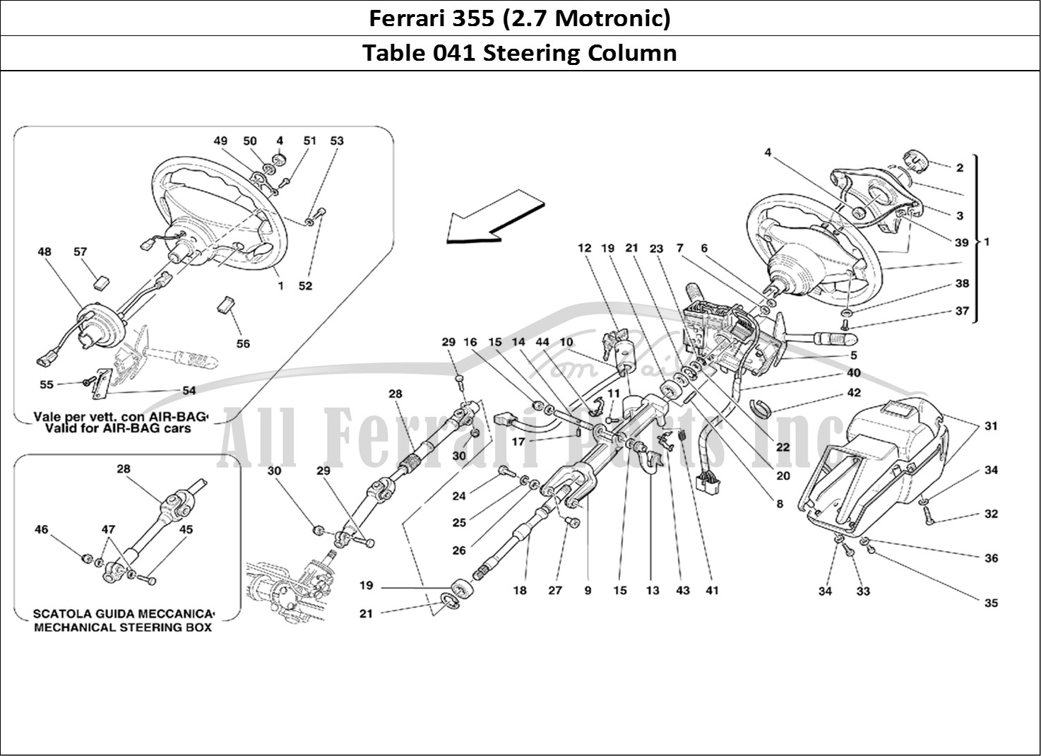 Buy Original Ferrari 355 2 7 Motronic 041 Steering