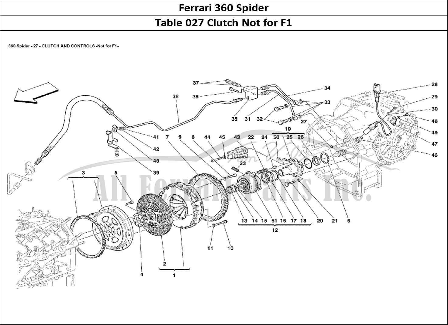 Buy Original Ferrari 360 Spider 027 Clutch Not For F1 Ferrari Parts Spares Accessories Online