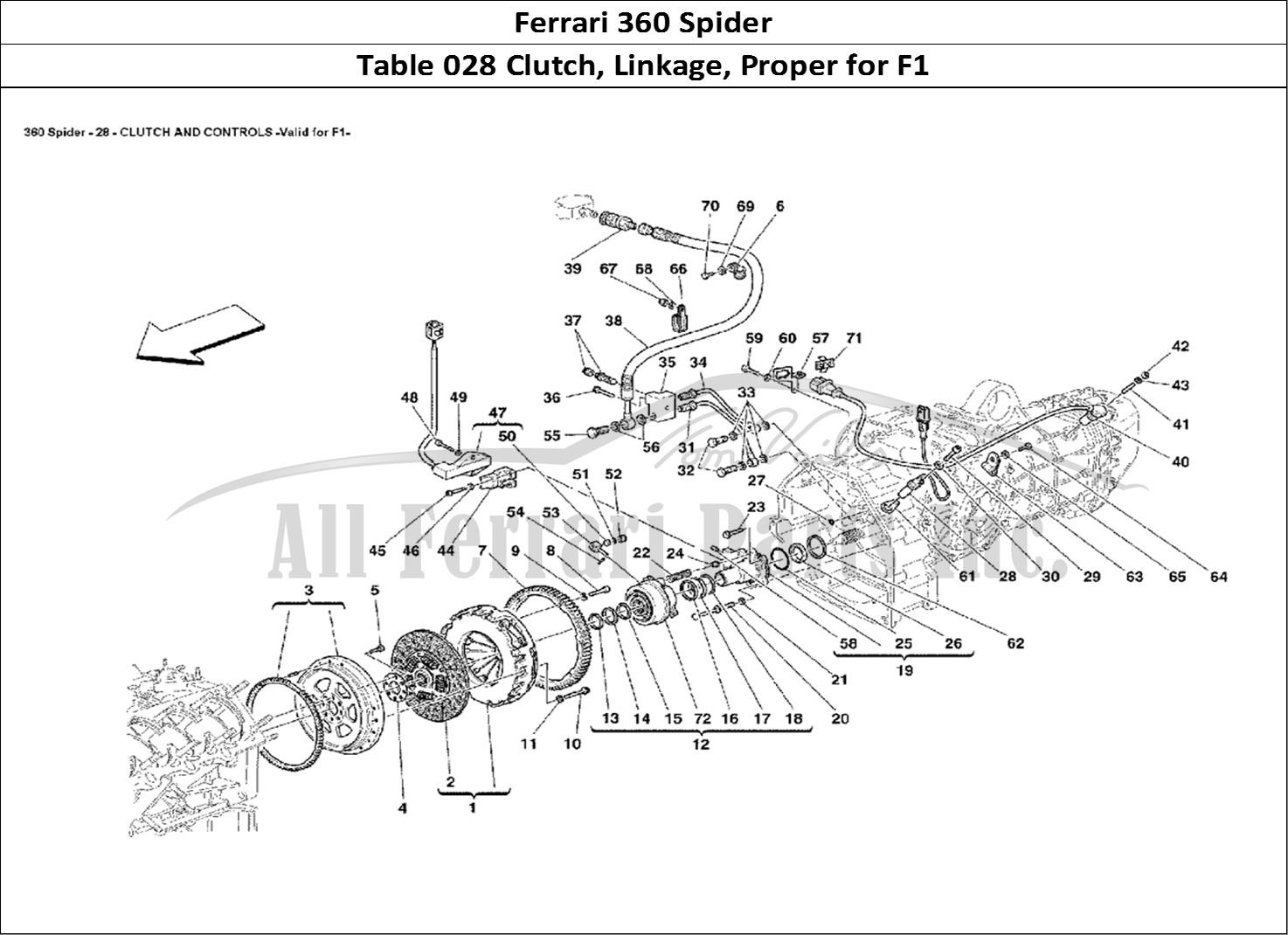 Buy Original Ferrari 360 Spider 028 Clutch Linkage Proper For F1 Ferrari Parts Spares
