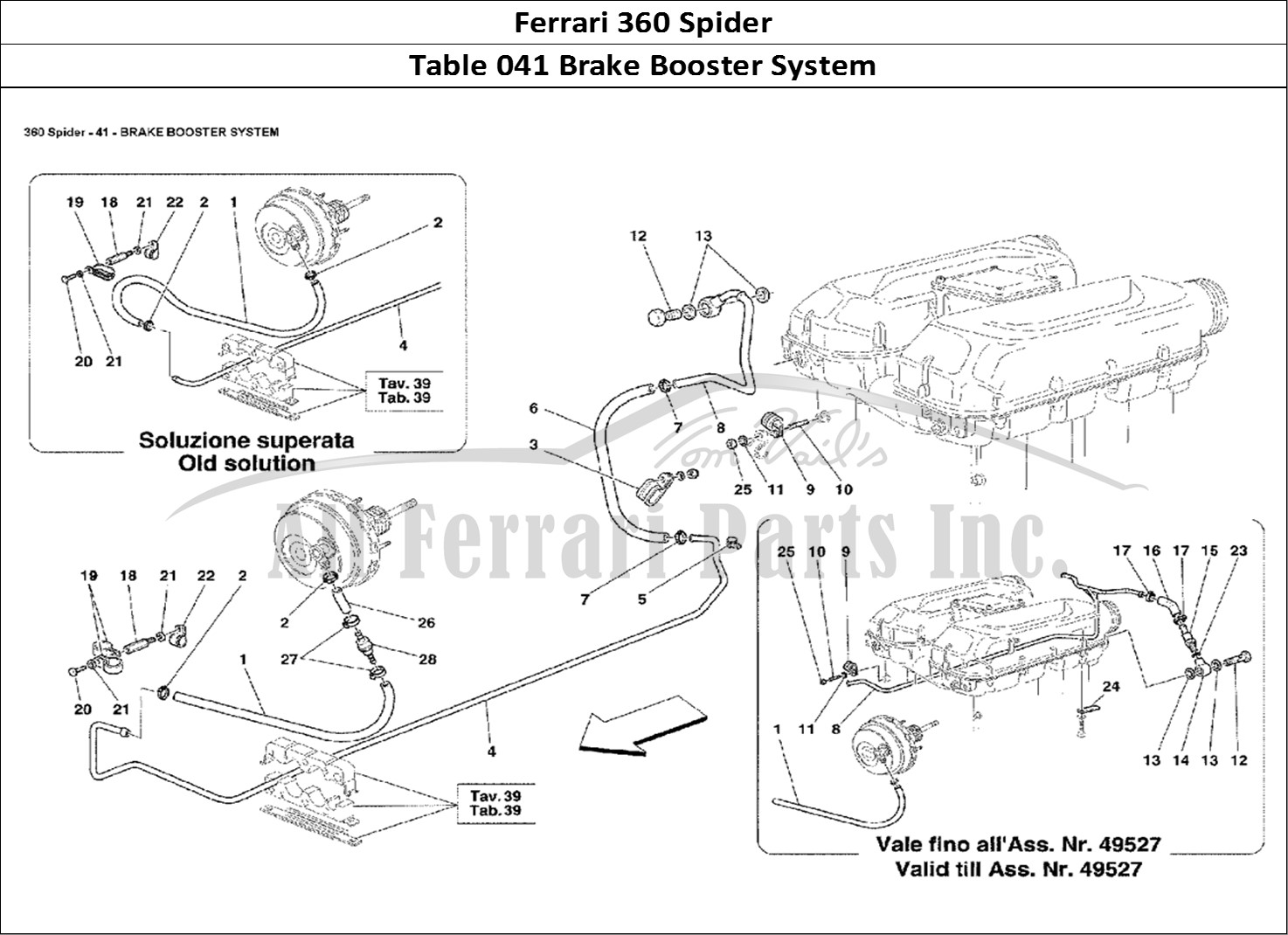 Buy Original Ferrari 360 Spider 041 Brake Booster System