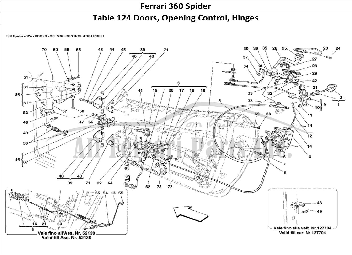 Buy Original Ferrari 360 Spider 124 Doors Opening Control