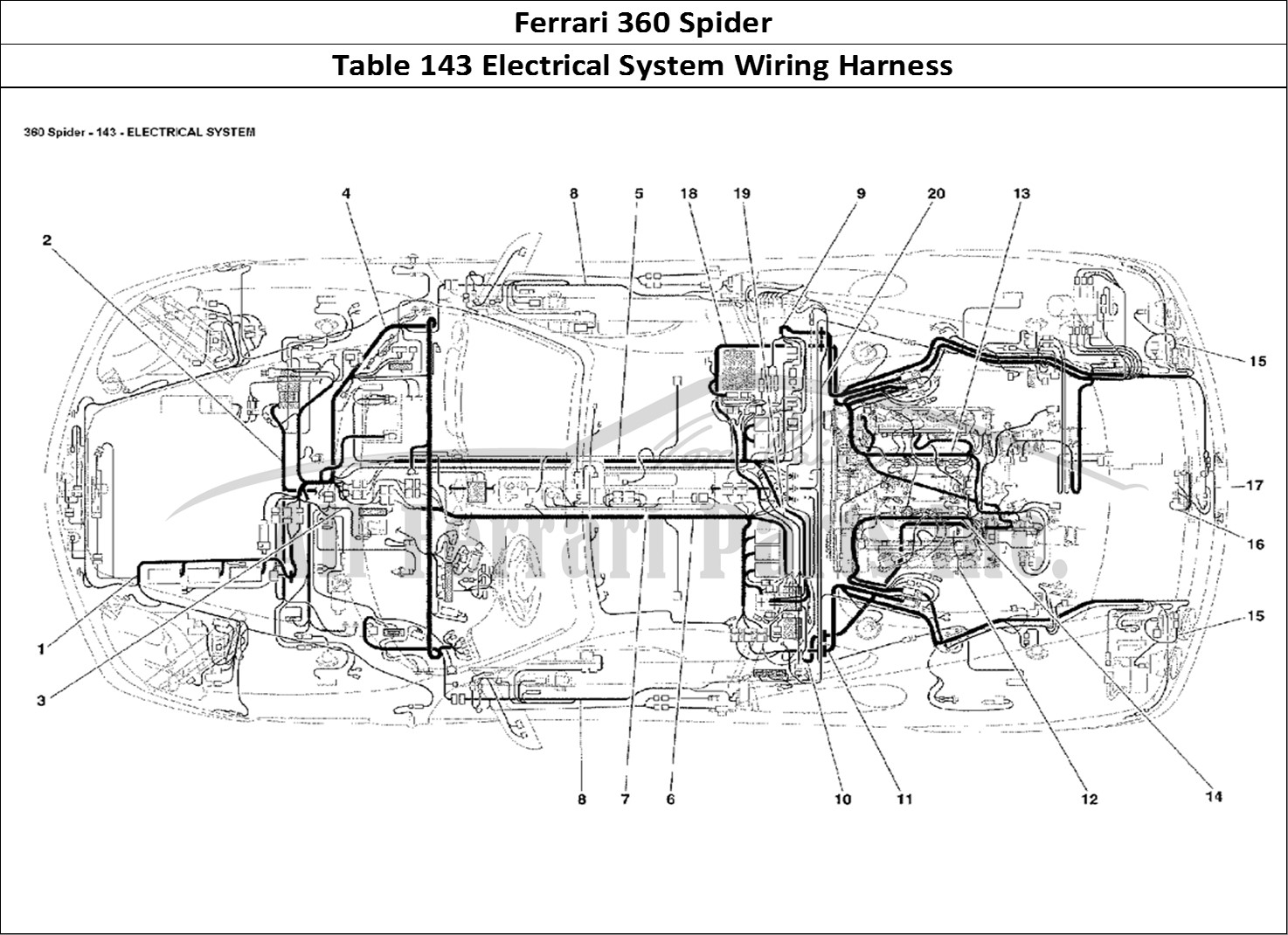 Buy Original Ferrari 360 Spider 143 Electrical System