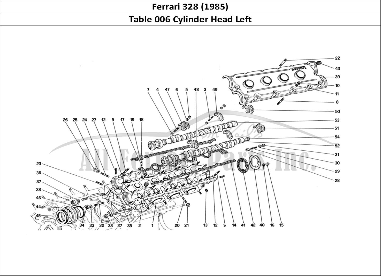Buy Original Ferrari 328 006 Cylinder Head Left Ferrari Parts Spares Accessories Online