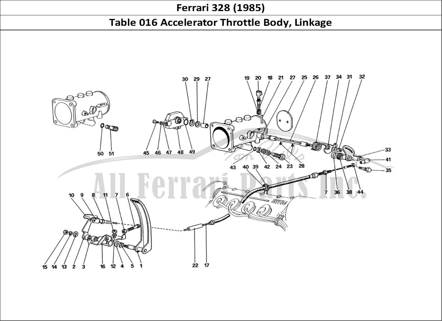 Buy Original Ferrari 328 016 Accelerator Throttle