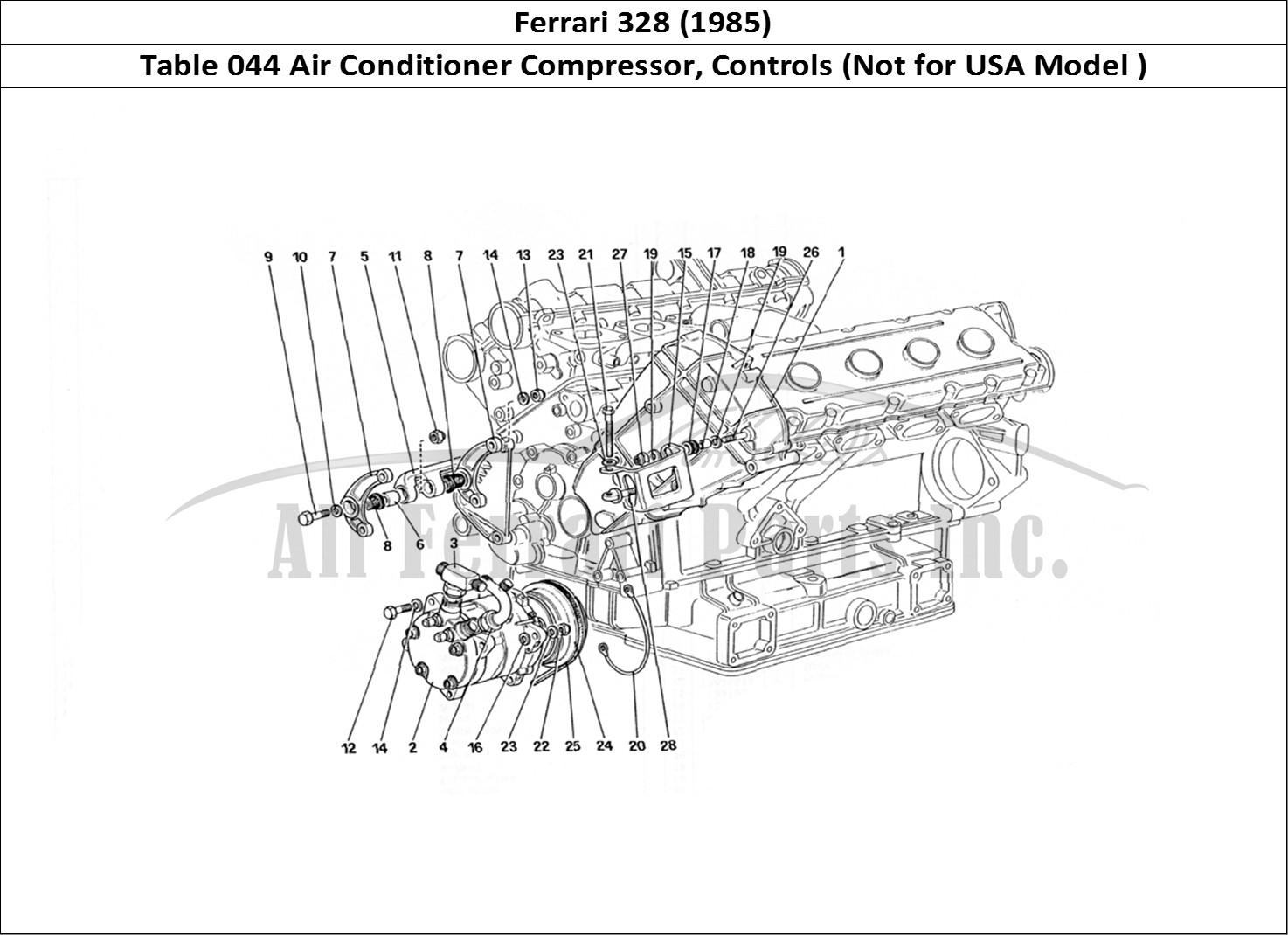 Buy Original Ferrari 328 044 Air Conditioner